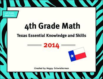 4th Grade TEKS Texas Essential Knowledge and Skills
