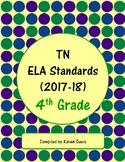 4th Grade TN ELA Standards (2017-18)