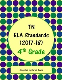 4th Grade TN ELA Standards (2017-18)
