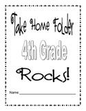 4th Grade Take Home Folder