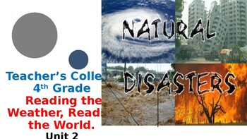4th Grade Teacher's College Reading Unit 2: Reading the Weather