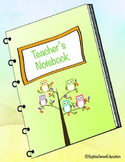 4th Grade Teacher's Notebook