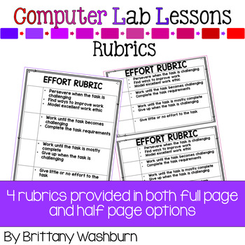 4th Grade Technology Curriculum Add on Pack