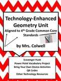 Geometry Unit with Technology for 4th Grade