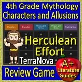 4th Grade TerraNova Test Prep Greek Mythology Allusions Review Game