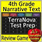 4th Grade TerraNova Test Prep Reading Literature and Narrative Review Game