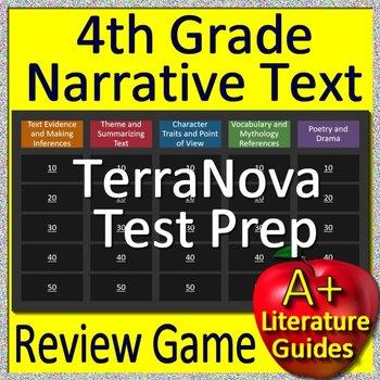 Terranova practice teaching resources teachers pay teachers 4th grade terranova test prep reading literature and narrative review game fandeluxe Gallery