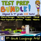 4th Grade Test Prep Bundle:  Aligned to the AIR state tests!