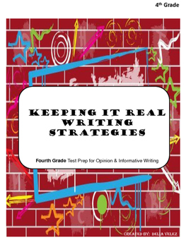 4th Grade Test Prep For Opinion & Informative Writing Program