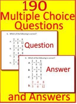 4th Grade Test Prep Math Practice AND Games Bundle Georgia Milestones, SBAC, FSA