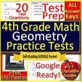 4th Grade Math Unit 5: Geometry - Standardized Test Prep