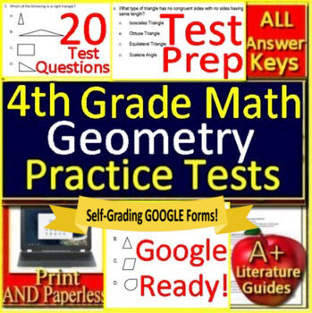 4th Grade Pssa Math Worksheets Teaching Resources TpT