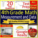 4th Grade Test Prep Math: Measurement and Data - Standardized Testing Practice