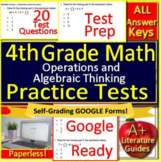 4th Grade Test Prep Math: Operations and Algebraic Thinking Standardized Testing