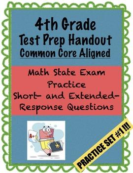 4th Grade - Test Prep - Set 1