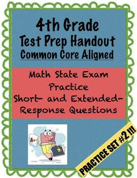 4th Grade - Test Prep - Set 2