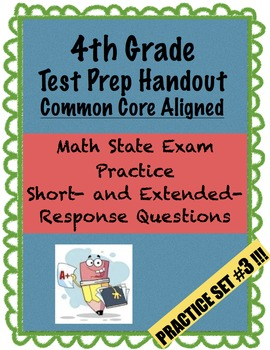 4th Grade - Test Prep - Set 3