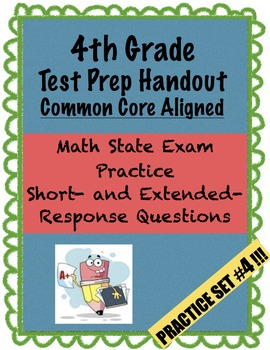 4th Grade - Test Prep - Set 4