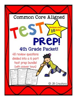 mct2 practice test grade 4 first edition
