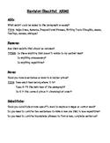 4th Grade Texas TEKS Revision Checklist