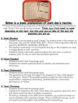 4th Grade Texas Tornado Daily Reading Spiral Review PART 5  TEKS Based