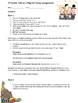 4th Grade Thanksgiving Pilgrim Web Quest and Essay