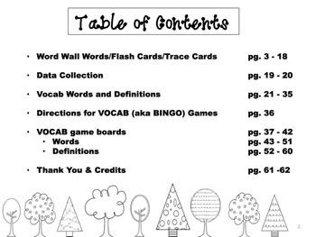 4th Grade Tier 2 Vocabulary Extras