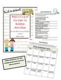 4th Grade Time Capsule Beginning/End of Year Activity + BO