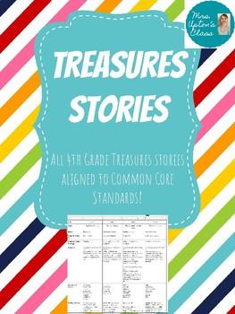 4th Grade Treasures Common Core Alignment