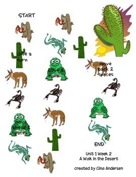 4th Grade Treasures Comprehension Games Units 1-3 by Gina ...