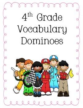 4th Grade Treasures Reading Vocabulary Dominoes