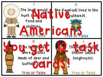 4th Grade Social Studies True or False Task Card BUNDLE - GA Milestones!