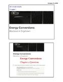 4th Grade Unit 1 Energy Conversions Chapter 1-4 WHOLE UNIT