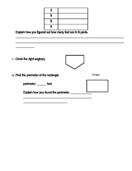 4th Grade Unit 1 Study Guide for Everyday Math 4
