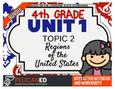 4th Grade - Unit 1 Topic 2 - The Regions of the USA