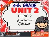 4th Grade - Unit 2 Topic 2 - American Colonies - Part A