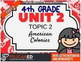 4th Grade - Unit 2 Topic 2 - American Colonies - Part B