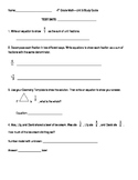 4th Grade Unit 5 Study Guide for Everyday Math 4