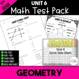 4th Grade Unit 6 Math Test Pack {Paper and Pencil}