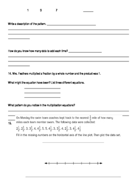 4th Grade Unit 7 Study Guide for Everyday Math 4