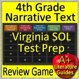 4th Grade Virginia SOL Reading Test Prep Reading Literature Review Game