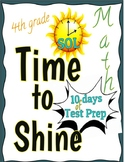 4th Grade Virginia SOL Test Prep - 10-Day Test Prep Packet and Review
