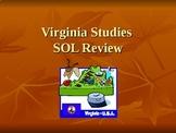 4th Grade Virginia Studies SOL Review