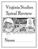 4th Grade Virginia Studies SOL Review Booklet