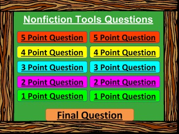 4th Grade Vocabulary Review - Are You Smarter Than a 5th Grader PowerPoint Game