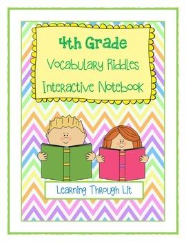 4th Grade Vocabulary Riddles
