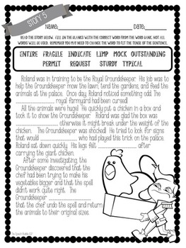 4th Grade Vocabulary Survival Kit