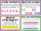 4th Grade Vocabulary Word Wall Cards Growing Bundle-Based