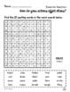 4th Grade WONDERS Spelling/Vocabulary Homework