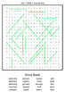 4th Grade WONDERS Spelling Word Search and Scramble -- Unit 1 (Differentiated)